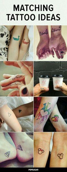 Matching Tattoo designs