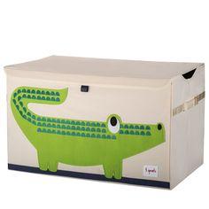 Spielzeugkiste Aufbewahrungskorb Krokodil von 3 sprouts, 34,95 €