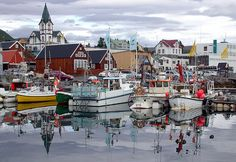 Husavik, a harbor for fishermen on the northern Iceland. © Martin Ystenes All Rights Reserved