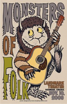 monsters of folk music posters | ... .com » Blog Archive » Monsters of Folk @ Landmark Theater
