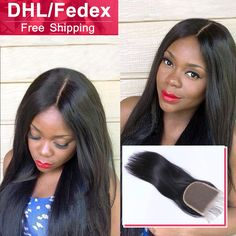 Raw Brazilian Virgin Hair Natural Black and Smooth High Quality 4x4 Cheap Human Hair LaceClosure Soft Brazilian Closure Straight