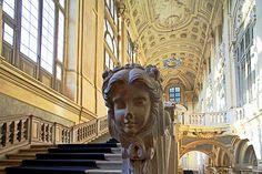 Staircase in Palazzo Madama, Torino, Italy @Palazzo Madama