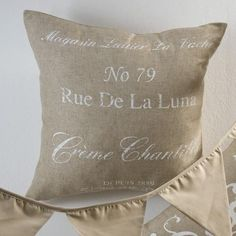 At Volpes - The Linen Company - you can expect to find some of the most stylish and well priced scatter cushions in South Africa. We pride ourselves on supplying the best quality linen products. Cushions For Sale, Scatter Cushions, Throw Pillows, Linen Company, French Script, Chant, August 2013, South Africa, Printed