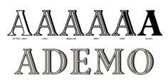 Ademo™ font download