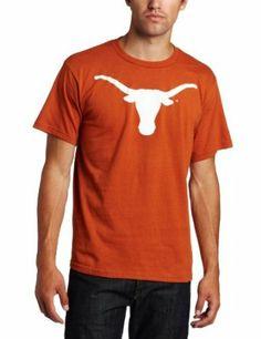 NCAA Men's Texas Longhorns Football Icon Short Sleeve Basic Tee (New Texas Orange, Medium) Majestic. $15.57