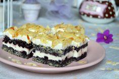 Prajitura Cella | MiremircMiremirc Romanian Desserts, Cake Cookies, Sweet Treats, Cheesecake, Food And Drink, Pudding, Yummy Food, Sweets, Easy