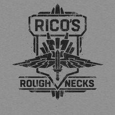 Rico's Roughnecks Starship Troopers T shirt