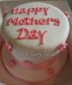 "4"" mothers day cake"
