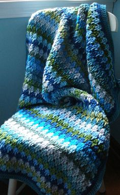 Larksfoot Stitch Afghan By Teresa Richardson - Free Crochet Pattern - (ravelry)