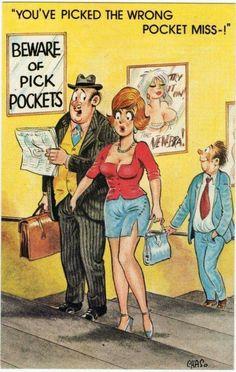 Postcard - pickpocket