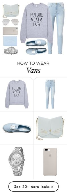 """""""Claws"""" by amber-mistry on Polyvore featuring Frame, Vans, Ted Baker, Sunny Rebel and Pré de Provence"""