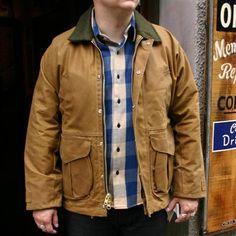 Tin Cloth Field Jacket Tan Filson