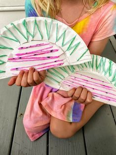Watermelon Yarn Craft   Fun Family Crafts