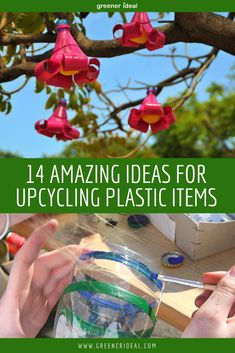 Check out these 14 Easy Ideas for Upcycling Plastic Items | Upcycling | Upcycle Crafts | Upcycle | Upcycling Ideas | Upcycling Ideas For Home |  Upcycling Plastic | Upcycling Plastic Bottles | Upcycling Plastic Bags | Upcycling Plastic Containers | Diy Projects For Plastic | DIY | #diy #plastic #upcycle #upcycling #reuse #recycle #greenerideal