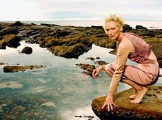 Hollywood actress Tilda Swinton - who says when she's at home in her native Scotland, she ...