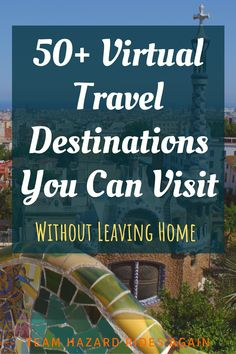 Can't go traveling right now but you desperately need a vacation? Escape on a virtual tour! Destinations and tourist sights all over the world have virtual Virtual Museum Tours, Virtual Tour, Top Travel Destinations, Travel Tips, Travel Hacks, Travel Essentials, Travel Stuff, Budget Travel, Travel Guides