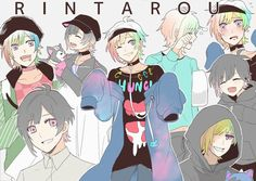 Anime Oc, Anime Guys, Anime Style, Neko, The Wolf Game, Rainbow Boys, Vampire Boy, Danganronpa Characters, Cute Anime Pics