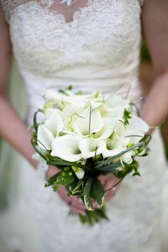 Haslington Hall wedding in Cheshire. White lily wedding flowers.