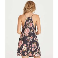 A relaxed sundress is the perfect compliment to carefree days in the park. The Come Along dress highlights feminine prints on a relaxed fit mini dres...