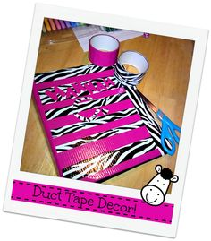 Send your kids to school with these easy, fun and decorative DIY Duct Tape Reusable Snack Bags. Duct Tape Projects, Duck Tape Crafts, Craft Projects, Projects To Try, Craft Ideas, Nifty Crafts, Fun Crafts For Kids, Diy For Kids, Duct Tape Purses