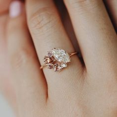 Our black diamond gold engagement ring set is handmade in expert detail. This unique bridal ring set features a luxurious diamond engagement ring with twisted accents along either si Ring Set, Ring Verlobung, Morganite Engagement, Vintage Engagement Rings, Cluster Engagement Rings, Country Engagement, Designer Engagement Rings, Wedding Rings Vintage, Wedding Jewelry