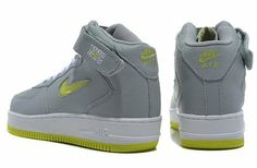 2014 Nike Air Force 1 High Grey Green