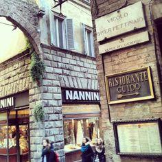 Siena, la pasticceria Nannini <3