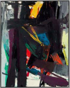 Franz Kline, 1958, 251x197cm. 26,485,000$ #abstract #art