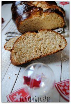 Pulla, brioche finlandaise -Finnish Brioche Bread