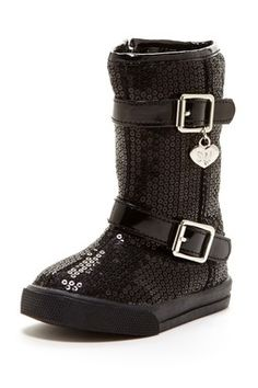 Lune Buckle Boot (Toddler & Little Kid)