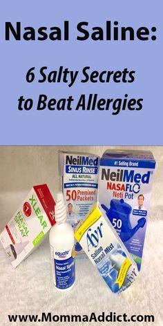 Salt water wash l Nasal Wash l Netipot l Neti pot l Nasal saline l Allergies l Sinusitis l Sinus Infection l Upper Respiratory Infection l Viral Infection l Mucus l Immunoglobulin l Pollen l Cilia l Dr. Momma l MommaAddict.com