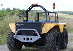 The Grizzly RUV from Clearpath Robotics is a big robot for big jobs like hay baling. It also has laser sensors precise enough that it can cultivate asparagus stalks ready for picking and detect cow urine so it knows where grass might need to be treated. - PopularMechanics.com