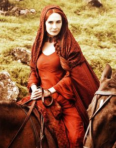 """Game of Thrones"" The red witch... Whose children I would never seek to face."