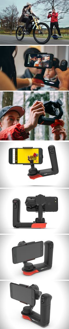 The Movi (cleverly named to represent both physical movement, and the movie format) literally brings drone tech into your smartphone via the robotic arm that uses a 3-axis motor to negate your hand's movements, making it look like you shot footage on a steadicam. BUY NOW!