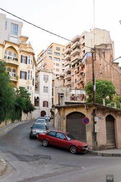 Taleet Jounblat – Ras Beirut, Lebanon