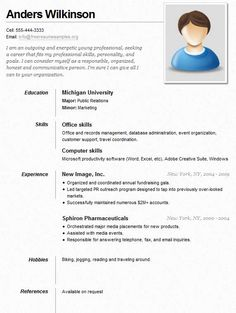 Sample Resume For A Job | Sample Resumes  Sample Of Job Resume