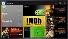 Google Play Movies, TV shows and music are launching on Google TV