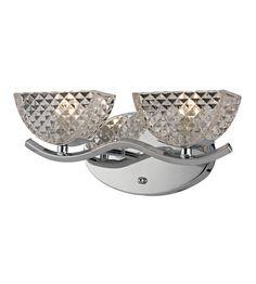 ELK Lighting Contour 2 Light Bath Bar in Polished Chrome 46157/2