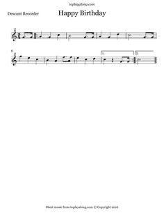 Free Sheet Music Recorder Bach - minuet by j s bach free