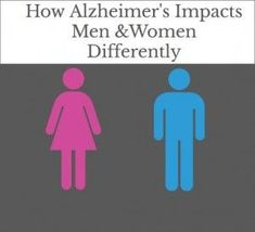How Alzheimer's Impacts Men & Women Differently