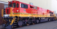 (ES40ACi).  GE Evolution Series locomotive began commercial operation in South Africa in early 2016. Equipped with a 12-cylinder, 4,200 H.P. engine.