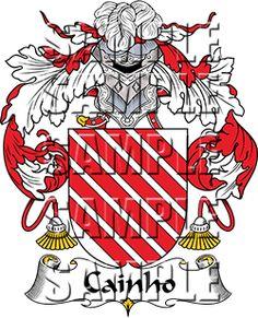 Cainho Family Crest apparel, Cainho Coat of Arms gifts