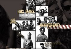 Sitio web Lois Jeans 50th Anniversary Lois Jeans, 50th Anniversary, Graphic Design, Winter, Movie Posters, Art, Winter Time, Art Background, Film Poster