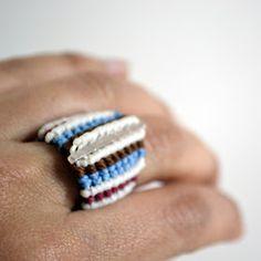 Lunaticart: 2012 Macrame Rings