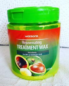 Mervia's World: Watsons Treatment Wax Macadamia Yağlı Saç Maskesi ...