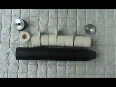 AIR GUN SUPPRESSOR RIFLE SILENCER BASIC TEST 40. SWIFT RIFLES.
