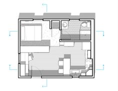 300 Sq FT Apartment Layout | Mulberry 300 Sq/ft Studio Apartment Honorable Mention