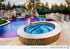 15 Enchanting Swimming Pool Lights