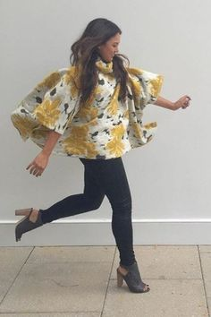 Clustered Flora Cowlneck by Saturday/Sunday | Pinned by topista.com