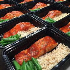 Sriracha honey salmon rice & sugar snap peas #dallasmealprep #mealprep #mealprepping #cooking #food #healthy #healthyeating #eatclean #cleaneating #eatcleantrainmean #exercise# #crossfit #delicious #dallas #dallastexas #foodporn #instafood #picoftheday #nutrition #mealprepmonday #mealprepsunday #fitwomencook #fitmencook #paleo #beastmode #kitchen #salmon #sriracha by dallasmealprep